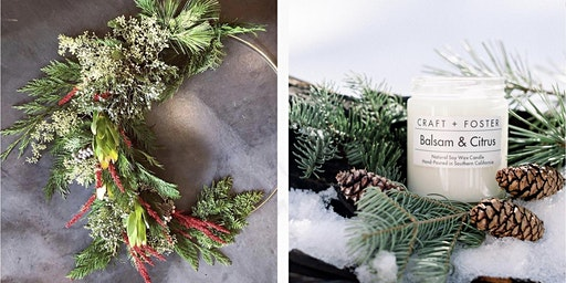 Holiday Wreath & Candle Making Workshop