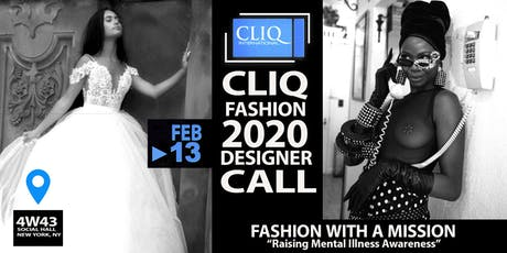 Designer Call for CLIQ Fashion Show And Documentary tickets