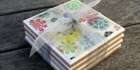 Craft Workshop: Decoupage Coasters tickets