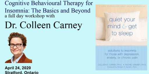 Cognitive Behavioural Therapy for Insomnia: The Basics and Beyond