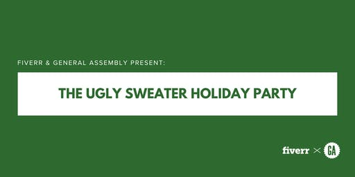 Fiverr + General Assembly Present: The Ugly Sweater Holiday Party