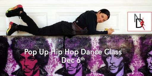 Hip Hop Dance Class - 1 Day Pop Up Event  Intermediate/Advanced Open to all