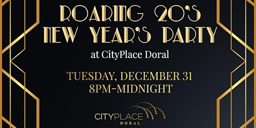 Roaring 20's New Year's Party at CityPlace Doral