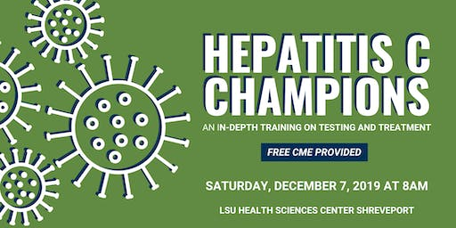 Hepatitis C Champions Training Shreveport