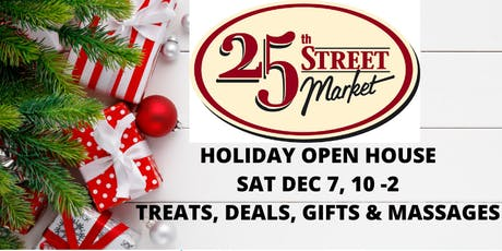 25th Street Holiday Open House tickets