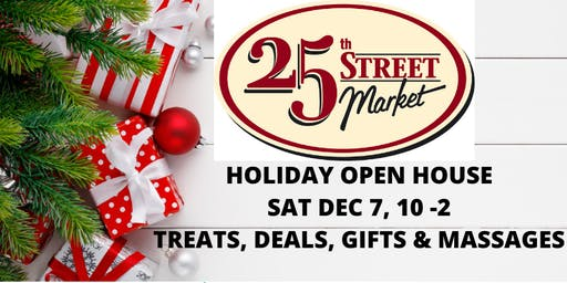 25th Street Holiday Open House