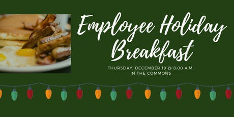Employee Holiday Breakfast tickets
