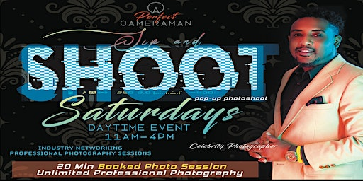 Sip and Shoot Saturdays ( Unlimited Professioal Photo w/Andrew Gittens)