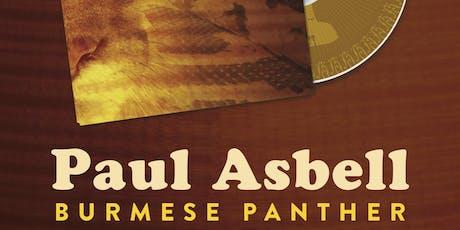 "Paul Asbell Jazz Quintet plays ""Burmese Panther"" tickets"