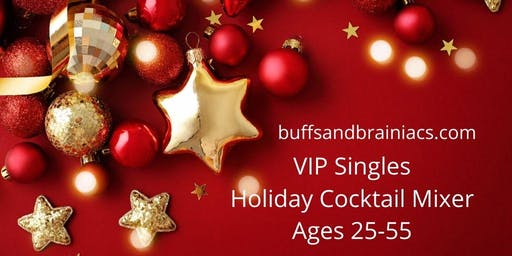 Holiday Singles Mingle - Cocktails, Conversations & Connections - 25-49