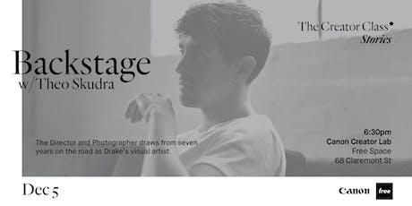 Canon Creator Lab Presents: Backstage w/ Theo Skudra tickets