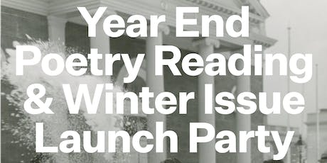 Year End Poetry Reading & Launch Party tickets