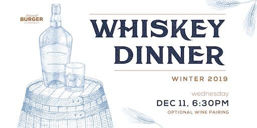 ABC December Whiskey Dinner
