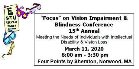 """""""Focus"""" on Vision Impairment and Blindness Conference tickets"""