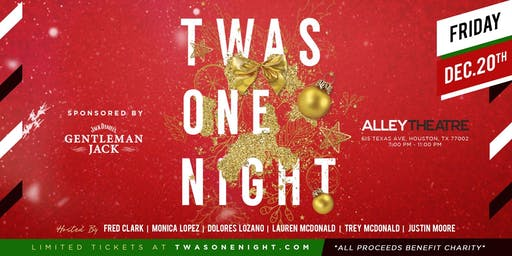 Twas One Night Holiday Benefit 2019