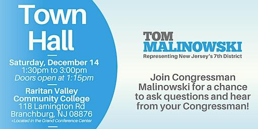 Town Hall with Congressman Malinowski
