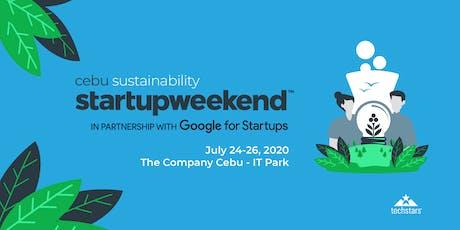 Startup Weekend Cebu - Sustainability Edition tickets