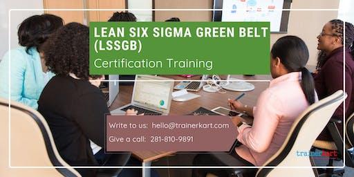 Lean Six Sigma Green Belt (LSSGB) Certification Training in Jacksonville, NC