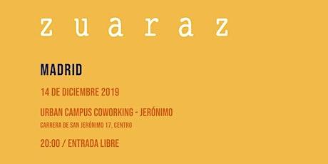 Zuaraz en concierto entradas