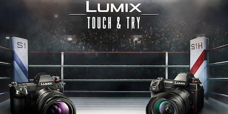 LUMIX TOUCH & TRY biglietti