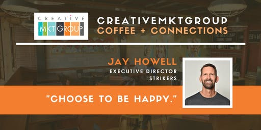 CreativeMktGroup December Coffee + Connections: Featuring Jay Howell, Richmond Strikers