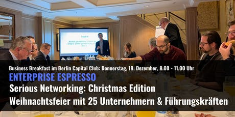 Enterprise Lab Serious Networking: Christmas Edition tickets