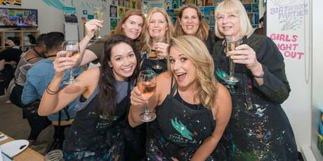 Paint and Sip Xmas Party Millstone Gosforth tickets