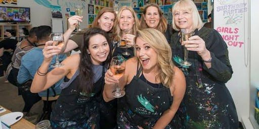 Paint and Sip Xmas Party Millstone Gosforth