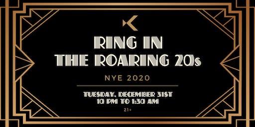 Roarings 20s NYE at Kabana Rooftop