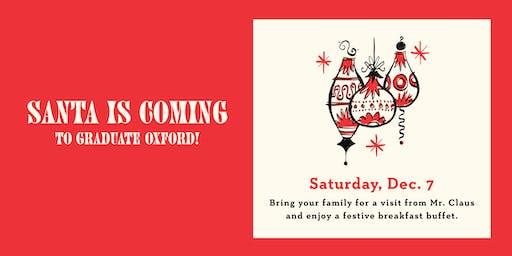 Breakfast with Santa at Graduate Oxford