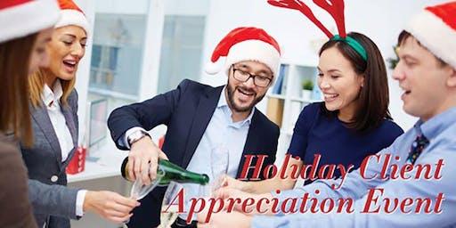 Holiday Client Appreciation Event