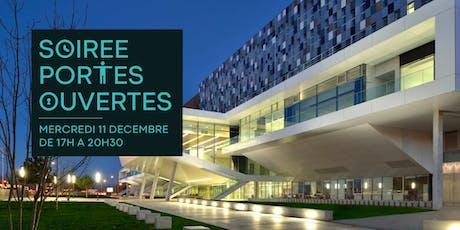 Soirée portes ouvertes - Campus Bordeaux billets
