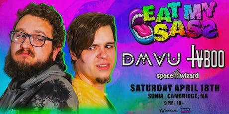 SAUCE Boston ft. DMVU & TVBOO - Eat My Sass Tour – Boston | 4.18.20 tickets