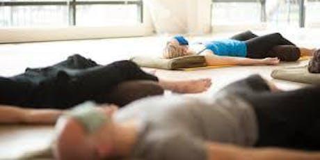 Sesión de Yoga Nidra  - relajación profunda y música en directo entradas
