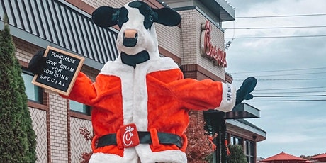 Chick-fil-A Christmas Cow-Gram tickets