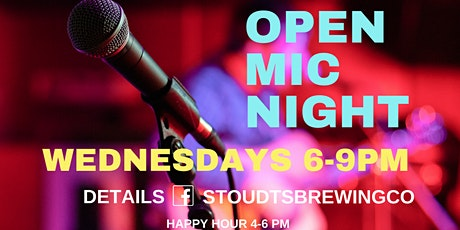 Stoudts Open Mic Night with Liam Galiano tickets