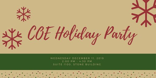 COE Holiday Party