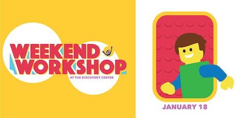 Weekend Workshop: Minifigure Movie Stars  tickets