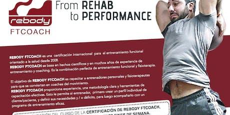 Rebody FTCOACH - Aus- /Fortbildung für Trainer, Physiotherapeuten & Coaches Tickets