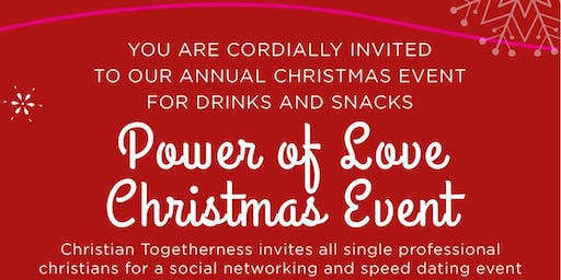 The Power of Love Christmas Networking Event