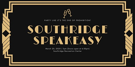 Southridge Speakeasy 2020 tickets