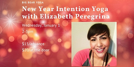 New Year Intention Yoga tickets