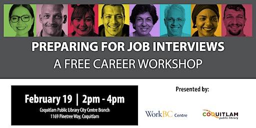 Preparing for Job Interviews: A Free Career Workshop (Coquitlam)