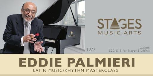 Eddie Palmieri Masterclass at Stages Music Arts