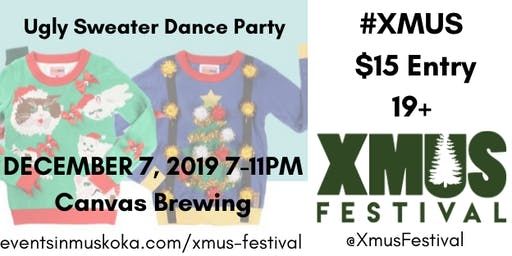 The XMUS Ugly Christmas Sweater Dance Party