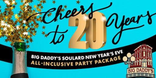 Cheers to 20 Years New Years Eve @ Big Daddy's Soulard