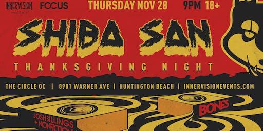 SHIBA SAN (Thanksgiving Night) in OC