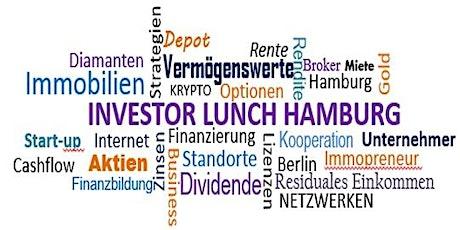 Investor Lunch Hamburg CITY 16.02.2020 Tickets