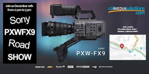 Sony PXWFX9 Road Show