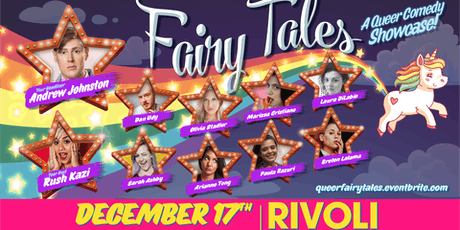 Fairy Tales: Queer Comedy Showcase tickets